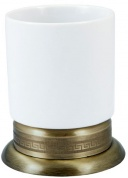 Подробнее о Стакан Boheme Medici  10612 настольный  бронза  / стекло матовое