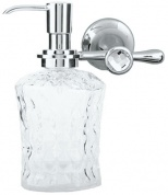 Подробнее о Дозатор для мыла Boheme Puro  10712 настенный хром / Swarovski /хрусталь