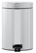 Подробнее о Ведро мусорное Brabantia  348686 с педалью (3 литра Brilliant Steel (сталь полированная