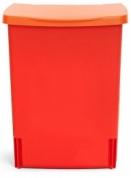 Подробнее о Ведро мусорное Brabantia  482267 (10 литров встраиваемое Lipstick Red (красный