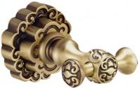 Подробнее о Крючок Bronze de LUX  K25005 двойной бронза