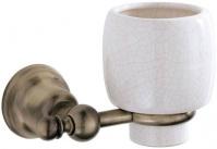 Подробнее о Стакан Carbonari Celeste Anticata  PBCE ANT BR подвесной античная бронза / керамика белая