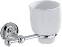 Подробнее о Стакан Carbonari Gamma  PBGA CR подвесной хром / керамика белая