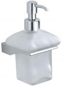 Подробнее о Дозатор для мыла Carbonari Broke  PSBK2 подвесной хром / стекло матовое
