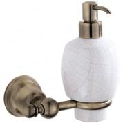 Подробнее о Дозатор для мыла Carbonari Celeste Anticata  PSCE2 ANT BR подвесной античная бронза / керамика белая