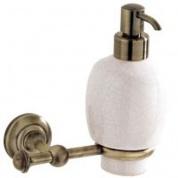 Подробнее о Дозатор для мыла Carbonari Gamma Anticata  PSGA2 ANT BR подвесной античная бронза / керамика белая