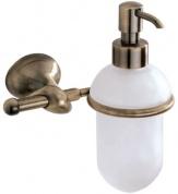 Подробнее о Дозатор для мыла Carbonari Riccio Anticata  PSRI2 ANT BR подвесной античная бронза / стекло матовое