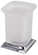 Подробнее о Стакан Colombo Portofino  B3241 CR настольный хром / стекло матовое