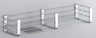 Подробнее о Полка Colombo Angolari  B9633.000 решетка 44 х h8,5 cм хром