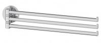 Подробнее о Полотенцедержатель Ellux Elegance  ELE 017 тройной длина 37,3 см хром