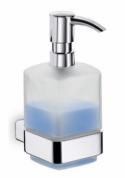Подробнее о Дозатор для мыла Emco Loft  0521 001 01 настенный хром /стекло матовое