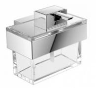 Подробнее о Дозатор для мыла Emco Vara  4221 001 00 настенный хром /стекло прозрачное