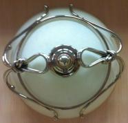 Подробнее о Светильник Etruska Nodo  1864/63 потолочный круглый бронза