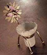 Подробнее о Подставка Etruska Papillon  4756/55/PERLA для стакана  золото / белый