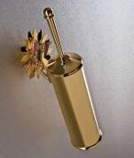 Подробнее о Ерш для туалета Etruska Papillon  4766/55/RED настенный золото/ красный