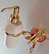 Подробнее о Дозатор мыла Etruska Icaro  4802/D/55/PERLA/CER подвесной золото/белый/керамика