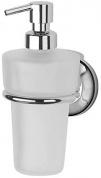 Подробнее о Дозатор FBS Standard  STA 009 для жидкого мыла подвесной хром / стекло матовое