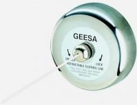 Подробнее о Держатель с веревкой Geesa Standard Hotel  134 для сушки белья длина 235 см полированная сталь