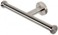 Подробнее о Бумагодержатель Geesa Nemox Stainless Steel  6518-05 без крышки двойной нержавеющая сталь