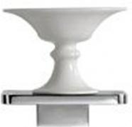 Подробнее о Мыльница Globo Relais  RE0391X на металлической полке хром / керамика белая