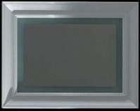 Подробнее о Зеркало Globo Relais  SP100 1000 х h900 мм  с подсветкой рама белая