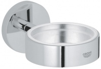Подробнее о Мыльница Grohe Essentials  40368000 стекло прозрачное