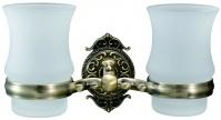 Подробнее о Стакан Hayta Gabriel  13905G/BRONZE подвесной двойной бронза/стекло
