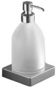 Подробнее о Дозатор для мыла Inda Logic  A 3312Z CR настольный хром / стекло матовое