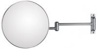 Подробнее о Зеркало Koh-i-Noor Spekhio Discoloflex  38/2KK3 косметическое 41 х h23 см (3X настенное хром