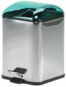 Подробнее о Ведро Koh-i-Noor Karta  5363 KP для мусора нержавеющая сталь / зеленый