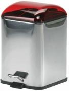 Подробнее о Ведро Koh-i-Noor Karta  5363 KR для мусора нержавеющая сталь / красный