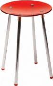 Подробнее о Стульчик Koh-i-Noor Noni  5365 KR для душевой кабины душа цвет сиденья красный