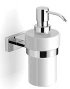 Подробнее о Диспенсер Langberger Alster  10921A для жидкого мыла хром / керамика белая