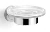 Подробнее о Мыльница Langberger Burano  11015A подвесная хром /стекло матовое