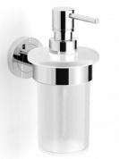 Подробнее о Диспенсер Langberger Burano  11021A для жидкого мыла хром / стекло матовое