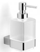 Подробнее о Диспенсер Langberger Vico  11321A для жидкого мыла хром / стекло матовое