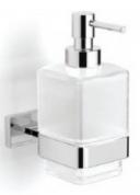 Подробнее о Диспенсер Langberger Alster  11921A для жидкого мыла хром / стекло матовое