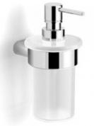 Подробнее о Диспенсер Langberger Lugano  24021A для жидкого мыла хром / стекло матовое