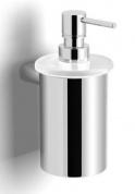 Подробнее о Диспенсер Langberger Lugano  24021B для жидкого мыла хром / стекло матовое