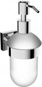 Подробнее о Дозатор для мыла Linisi Cubo  810085F-B подвесной хром / стекло