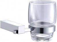 Подробнее о Стакан Linisi Sigma 83584B подвесной хром / стекло