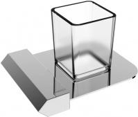Подробнее о Стакан Linisi Linea 87784 настольный хром / стекло матовое