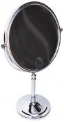 Подробнее о Зеркало Magliezza Fiore 80106-CR косметическое настольное диаметр 20 см хром