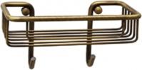 Подробнее о Полка-решетка  Migliore Complementi  CS.COM-50.601.CR с двумя крючками хром