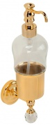 Подробнее о Дозатор для мыла Migliore Amerida  ML.AMR-60.407.CR настенный хром/Swarovski