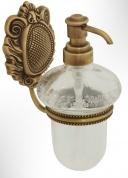 Подробнее о Дозатор для мыла Migliore Cleopatra  ML.CLE-60.707.CR настенный хром/стекло прозрачное с матовым узором