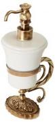 Подробнее о Дозатор Migliore Edera  ML.EDR-60.317.CR жидкого мыла настольный хром / керамика