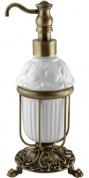 Подробнее о Дозатор Migliore Elisabetta  ML.ELB-60.117.CR жидкого мыла настольный хром / керамика