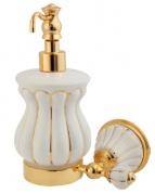 Подробнее о Дозатор Migliore Olivia  ML.OLV-60.607.BO.DO жидкого мыла  настенный  золото / керамика (декор золото