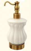 Подробнее о Дозатор Migliore Olivia  ML.OLV-60.617.BR жидкого мыла настольный  бронза / керамика
